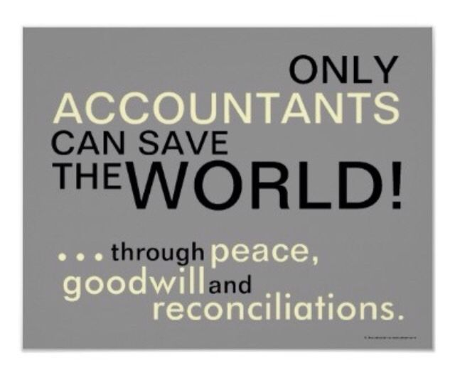 only accountants can save the world