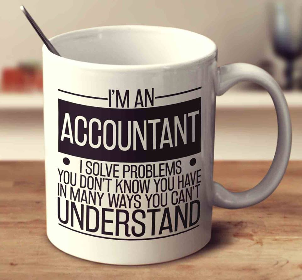 i'm an accountant